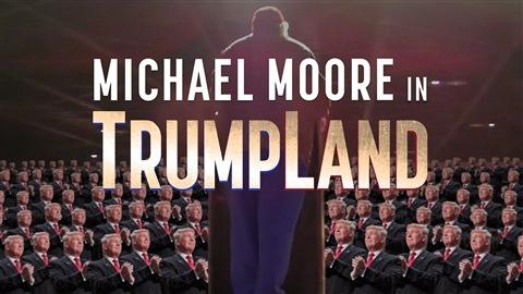 Michael Moore a tourné en secret un film sur Trump