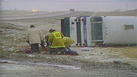 Un accident d'autobus en 1986 entre Regina et Swift Current a couté la vie à quatre joueurs des Broncos.