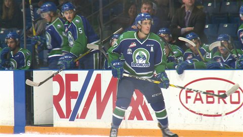 Plusieurs joueurs des Broncos ont toutefois été repêché dans la LNH dans les dernières années dont Maxime Lajoie (photo).