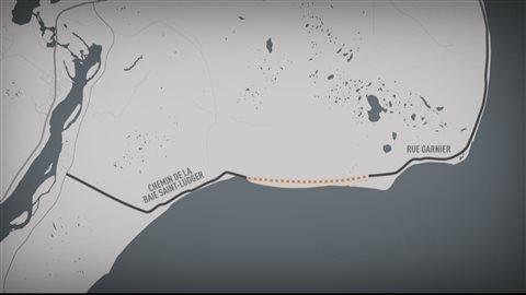 La construction d'une piste cyclable entre Pointe-Lebel et Pointe-aux-Outardes permettra de prolonger de 5,5 kilomètres le réseau de la Véloroute des baleines.