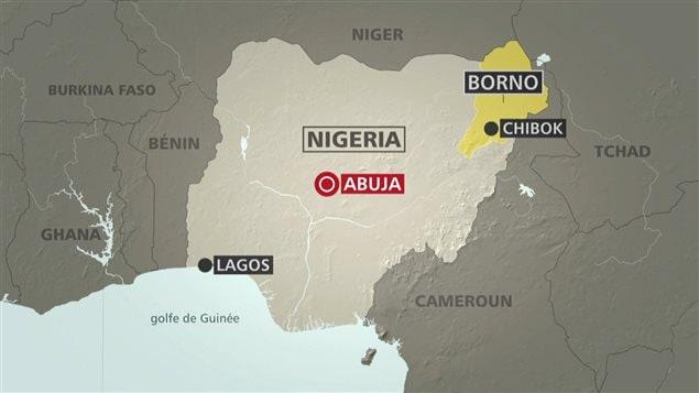 Les lycéennes ont été enlevées en avril 2014 à Chibok, dans le nord-est du Nigeria.