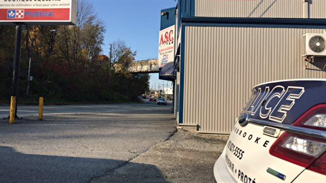 Le commerce ASC de Sherbrooke a souvent ciblé par des vandales