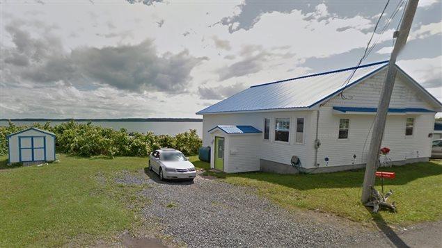 La propriété de James Bates avant les pluies diluviennes qui se sont abattues sur le Cap-Breton la semaine dernière.