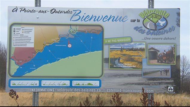 Une nouvelle piste cyclable reliera Pointe-aux-Outardes à Pointe-Lebel - ICI.Radio-Canada.ca