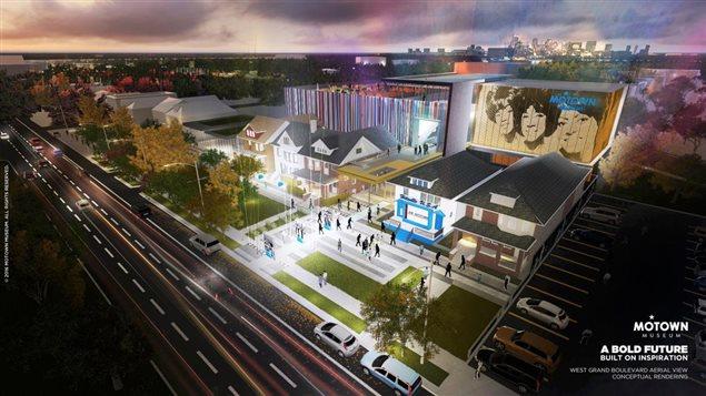 Le Musée Motown a de grands projets d'agrandissement
