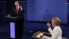 Au troisième débat, Trump refuse de dire s'il reconnaîtrait une victoire de Clinton
