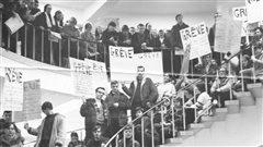 La révolte étudiante acadienne de 1968