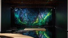 La galeriePeter Robertson d'Edmonton sous l'eau