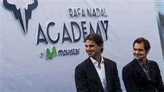 Nadal inaugure son académie de tennis