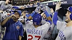Les Cubs écrasent les Dodgers et se replacent