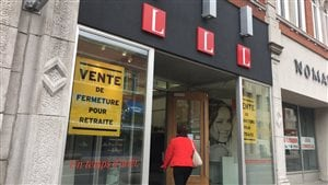 La boutique L au centre-ville de Trois-Rivières.