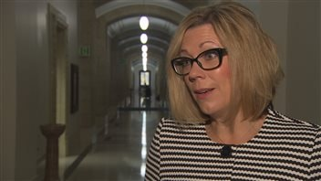 Rochelle Squires, ministre responsable des Affaires francophones du Manitoba