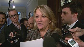 Lise Thériault sera du rassemblement en soutien aux victimes.