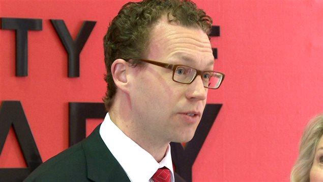 Le ministre de l'Enseignement supérieur, Marlin Schmidt.