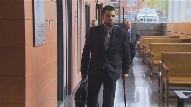 Le coaccusé Marc-André St-Amant a témoigné dans l'affaire Vadeboncoeur.