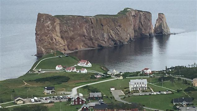 Percé, en Gaspésie