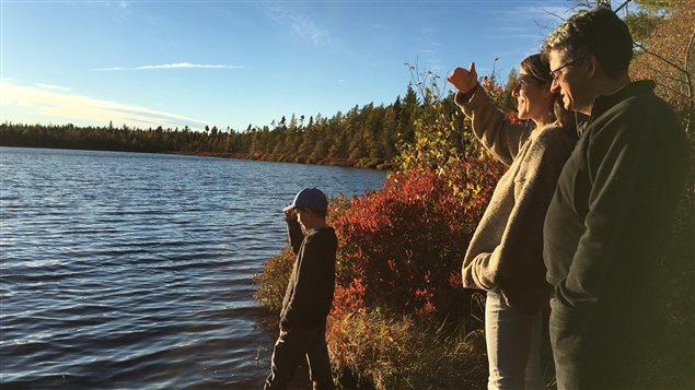 La ferme de Gilles Martin et Nicole Comeau est située à Richiboutou-Village en bordure du lac à Camil au N.-B.