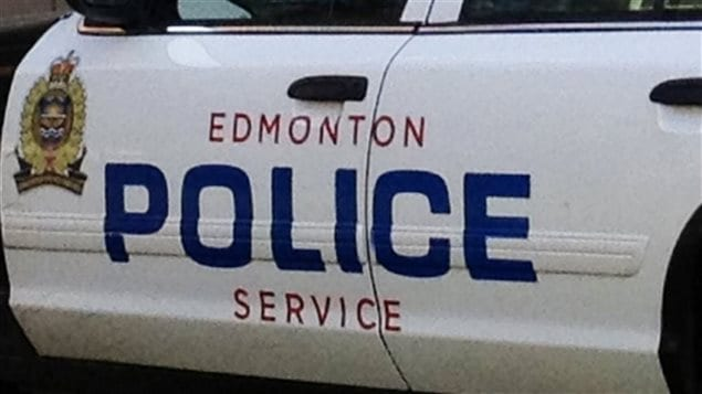 voiture de police d'Edmonton