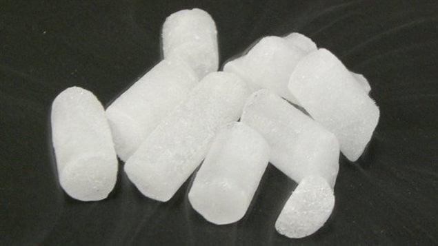 De la glace carbonique