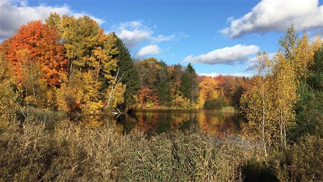 La rivière aux Sables à Trois-Rivières.