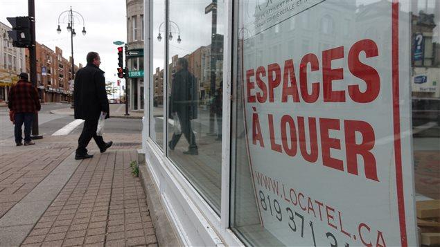 La SDC du centre-ville de Trois-Rivières constate qu'il y a une centaine de locaux vacants au centre-ville.