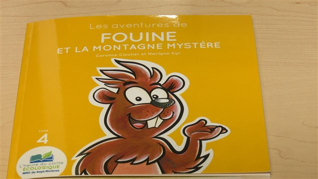 La MRC de Sept-Rivières a publié un livre pour enfants sur les dépotoirs clandestins.