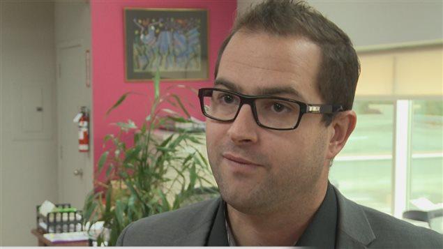 Hugo Dubé, président de la Chambre de commerce de la MRC de Rivière-du-Loup
