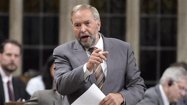 «Il y a une tendance lourde chez les libéraux de promettre à gauche, et de gouverner à droite», croit Thomas Mulcair.