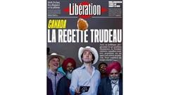 Trudeau en une de <i>Libération</i> : la façade craque