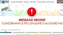 Test provincial annulé à cause d'une «cyberattaque»