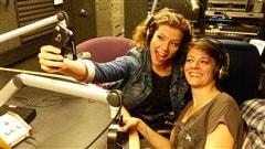 Alexis Normand et Ariane Mahrÿke Lemire en tournée
