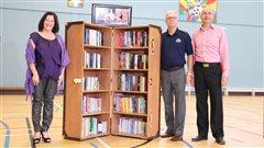 Un projet communautaire pour promouvoir la lecture dans le Restigouche