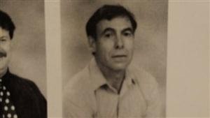Jean-Pierre Melaye (à droite) dans l'album scolaire de 1995 de l'École secondaire catholique L'Horizon