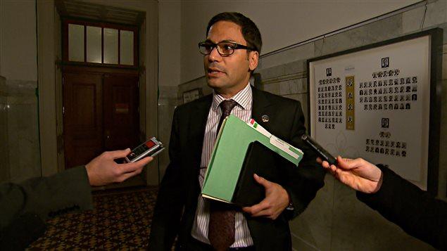 Gerry Sklavounos, à l'Assemblée nationale