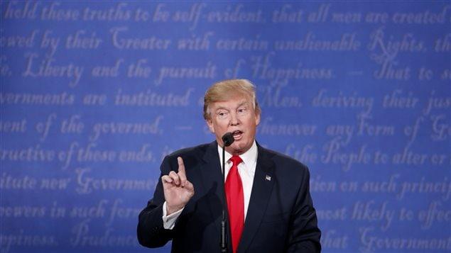 Donald Trump, lors du troisième débat