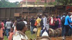 Au moins 55morts dans un accident de train au Cameroun