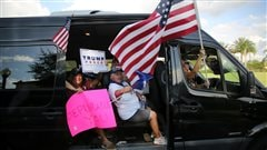 Rencontre avec des électeurs de la Floride, État clé de la présidentielle