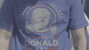 Des Mexicains ont vendu des t-shirts truqués à des partisans de Donald Trump.