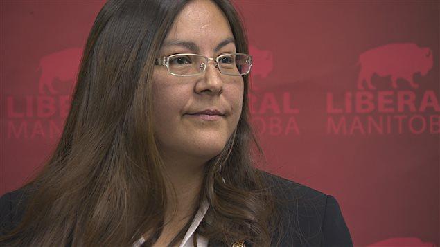 La chef intérimaire du Parti libéral du Manitoba, la députée de Kewatinook Judy Klassen