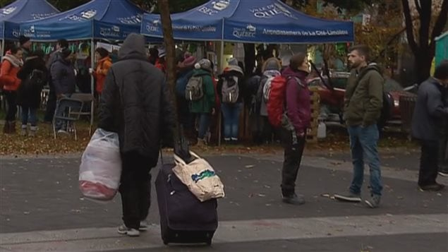 La 15e Nuit des sans-abri à Québec