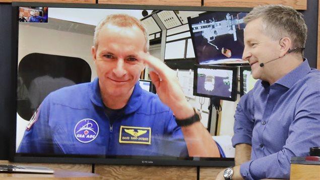 Revoyez l'entrevue avec l'astronaute David St-Jacques