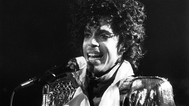 Prince en concert à Toronto en 1984