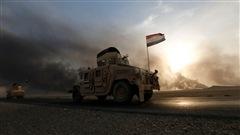 L'armée irakienne poursuit sa progression autour de Mossoul