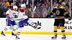 Le Canadien fait plier les Bruins