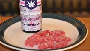 Des bonbons à la marijuana