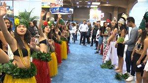 Le tourisme international connaît un succès grandissant.