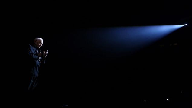 Charles Aznavour lors d'un concert en Arménie (archives)