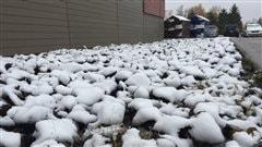 Les premiers flocons de neige tombent sur certains secteurs du Québec
