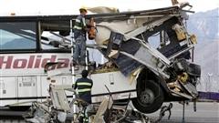 Un accident d'autobus fait au moins 13morts en Californie