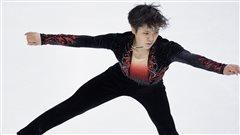 Le Japonais Shoma Uno en met plein la vue à Skate America